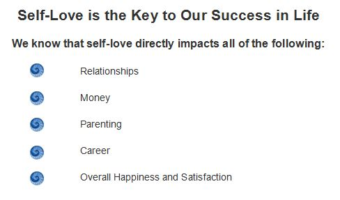 self love key to success