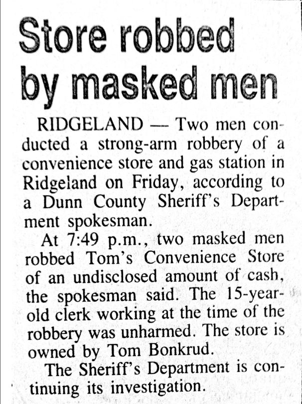 store robbery